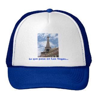 Lo que pasa en Las Vegas... Mesh Hats