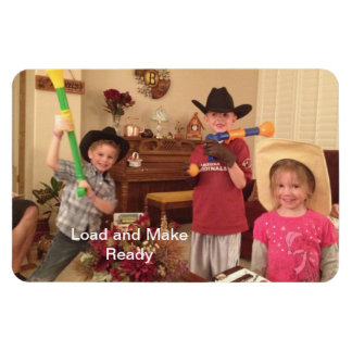Load and Make Ready - Future Gunslingers Magnets