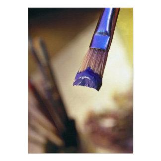 Loaded Paintbrush Custom Invite