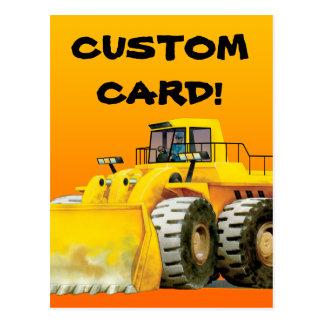 Loader Custom Postcard
