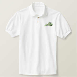 Loader Embroidered Polo Shirt