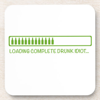 Loading drunk drink coasters