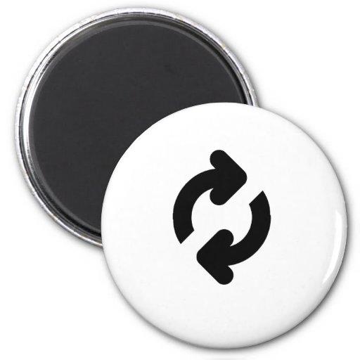Loading Icon Fridge Magnets