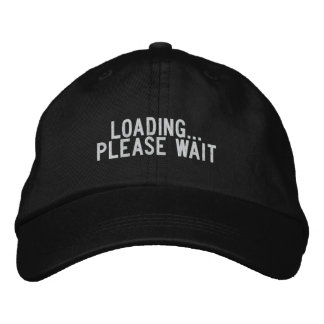 Loading... please wait embroidered hat
