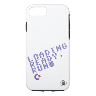 Loading. Ready. Run. Phone case