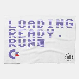Loading. Ready. Run. Towel