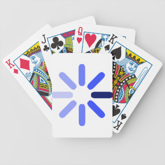 Loading Symbol Bicycle Playing Cards