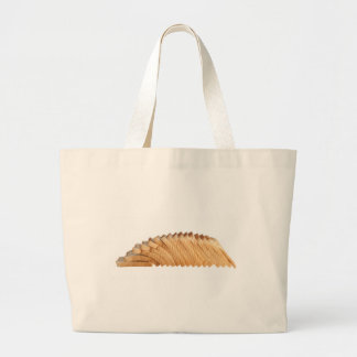 Loaf of sliced bread large tote bag