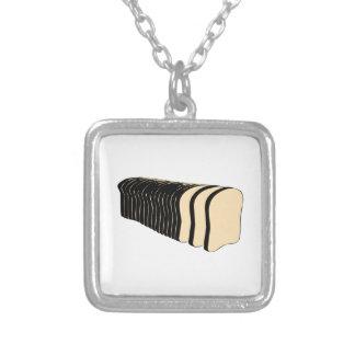 Loaf of Sliced Bread Custom Necklace
