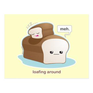 Loafing Around Postcard