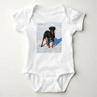 Lobo Rottweiler Baby Bodysuit