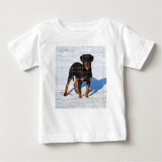 Lobo Rottweiler Baby T-Shirt