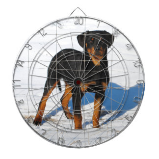 Lobo Rottweiler Dart Board