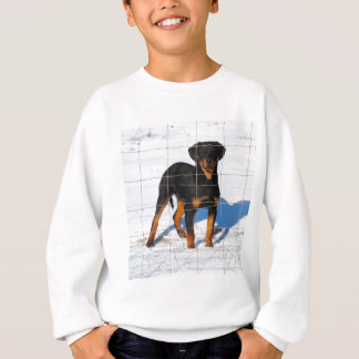 Lobo Rottweiler Sweatshirt
