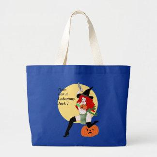 Lobotomy Pumpkin Bags