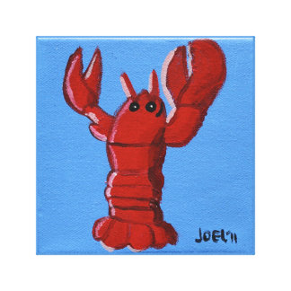 Lobster (2011) by Joel Anderson Wrapped Canvas