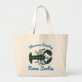 lobster Bluenose Country Nova Scotia tote bag