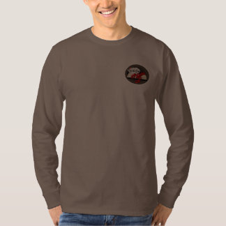 Lobster Chef Kiss the Cook Mens Long Sleeve T-shir Tees