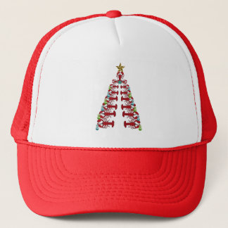 Lobster Christmas tree cute party ugly hat