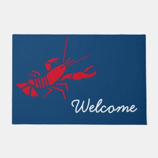 Lobster Door Mat