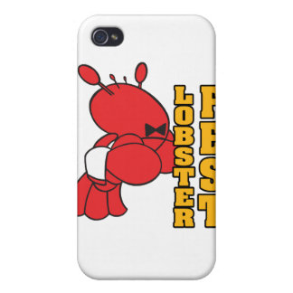 lobster fest lobster fest lobster waiter case for iPhone 4