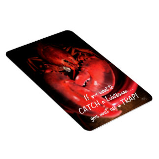 Lobster Humor Flexible Magnets