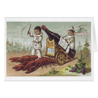 Lobster Kids Greeting Card