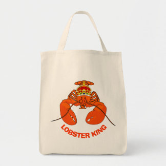 Lobster King Tote Bag
