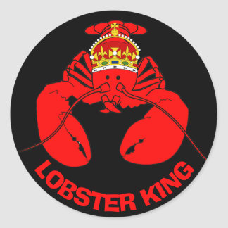 Lobster Kings Classic Round Sticker