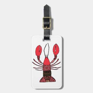 Lobster Luggage Tag