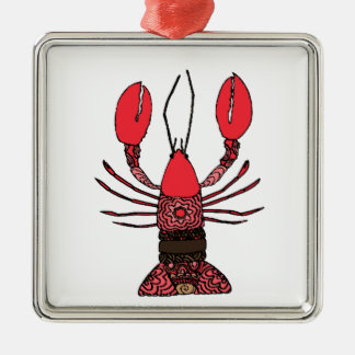 Lobster Metal Ornament