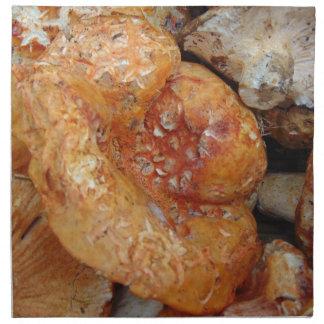 Lobster Mushrooms Napkin