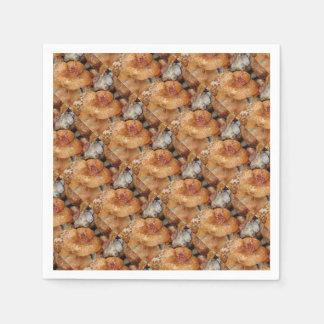 Lobster Mushrooms Paper Napkins