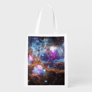 Lobster Nebula Reusable Grocery Bag