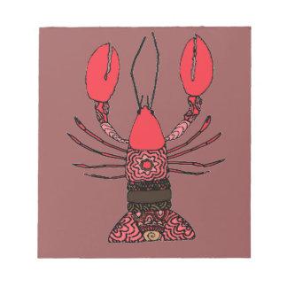 Lobster Notepad