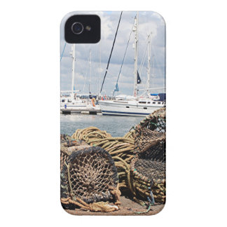 Lobster pots, Yarmouth, England Case-Mate iPhone 4 Cases