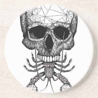 Lobster Skull Coaster