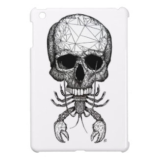 Lobster Skull Cover For The iPad Mini