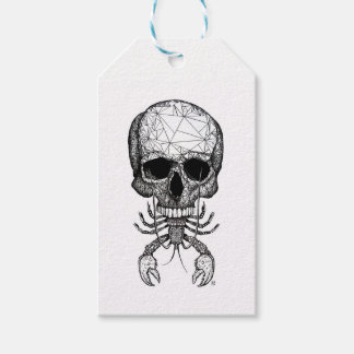 Lobster Skull Gift Tags