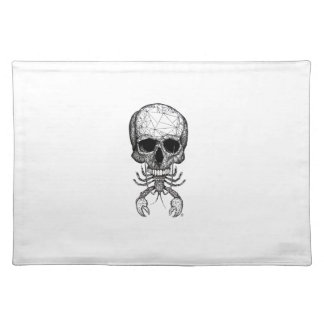 Lobster Skull Placemat