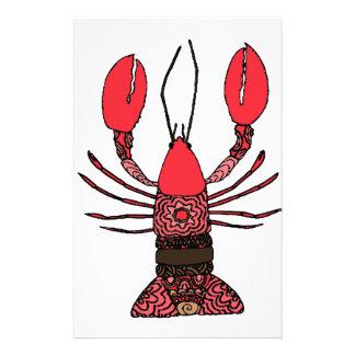 Lobster Stationery