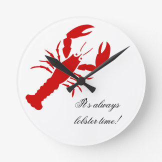 Lobster Time Wall Clock