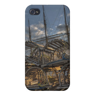 Lobster Traps and Tall Ship Masts Case For The iPhone 4