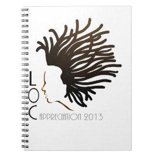 LOC Appreciation Day 2013 Spiral Notebook