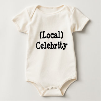 Local Celebrity Baby Bodysuit