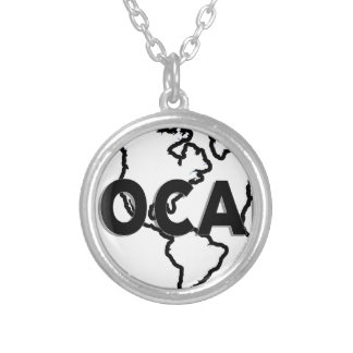 Local Global Round Pendant Necklace