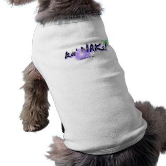 Local Hawaiian Style Pet: Ka' NAKs Sleeveless Dog Shirt