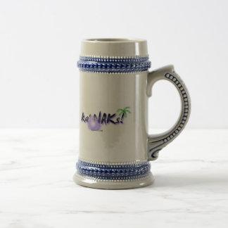 Local Hawaiian Style Steins: Ka' NAKs Coffee Mugs