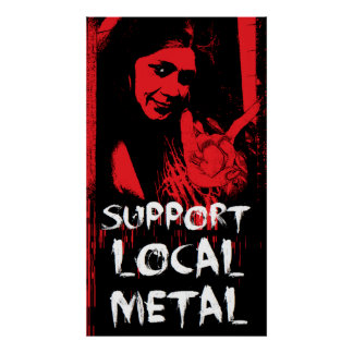 Local Metal Poster