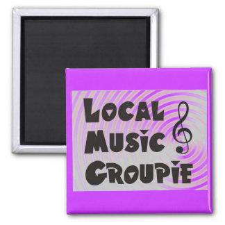 Local Music Groupie Magnet